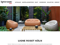 ligne roset website screenshot
