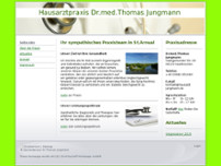 Thomas Jungmann website screenshot