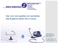 Sudermann Oskar website screenshot