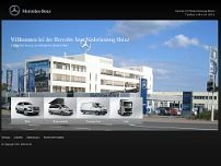 Daimler AG website screenshot
