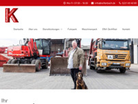 Kolfenbach GmbH & Co. KG website screenshot