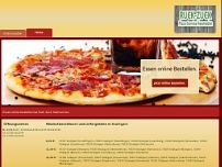 Pizza-Service Ruckzuck website screenshot