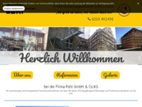 H. Pohl GmbH & Co. KG Gerüstbau website screenshot