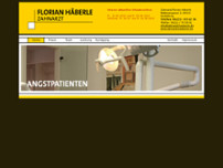 Florian Häbele website screenshot