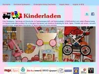 Hoppla Kinderladen website screenshot