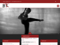 Tanzprojekt München website screenshot