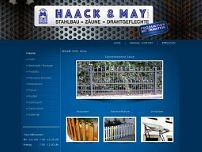 Haack & May GmbH website screenshot