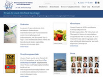 Diabetes Praxis Dr. med. Winfried Keuthage website screenshot