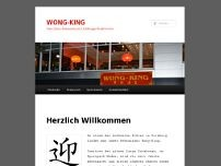 China-Restaurant Wong-King website screenshot