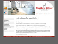Tischlerei Lübker Inh. Michael Overath website screenshot