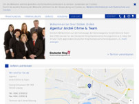 Deutscher Ring Generalagentur Ohme website screenshot