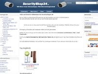 CN-Security,Computer-Netzwerk-Sicherheit website screenshot