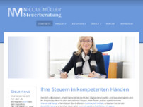 Nicole Müller website screenshot