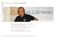 Andreas Schuster website screenshot