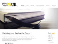 Druckhaus Stil website screenshot