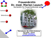 Marion Lausch website screenshot