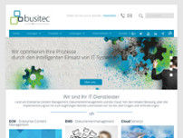 busitec GmbH website screenshot