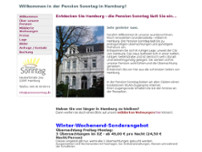 Pension Sonntag Zimmer + Apartments + FeWo website screenshot