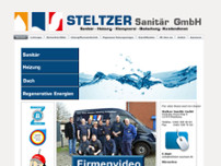 Steltzer Sanitär GmbH Inh. Carsten Peters website screenshot