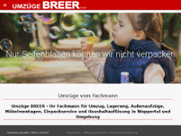 Breer GmbH website screenshot