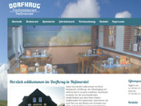 Dorfkrug website screenshot