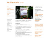 Matthias Kostka website screenshot