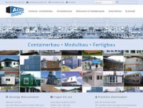 Acker Raum-Systeme GmbH website screenshot