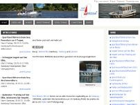 YACHTSCHULE MERIDIAN Nils Finn website screenshot