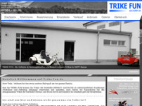B. Tuncel Trike-Fun website screenshot