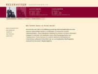 Holger Bilshausen website screenshot