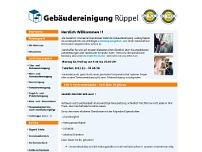 Gebäudereinigung Rüppel e.K. website screenshot