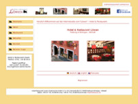 Hotel & Restaurant Löwen website screenshot