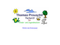 Thomas Prouschil website screenshot