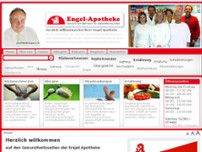 Engel-Apotheke J. Brinkmann website screenshot