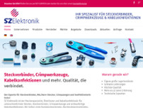 SZ Elektronik GmbH & Co. KG website screenshot