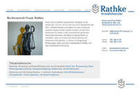 Rathke website screenshot