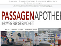 Passagen-Apotheke website screenshot