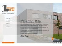 Ralf Lenz website screenshot