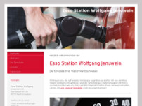 Esso-Station Wolfgang Jenuwein e.K. website screenshot