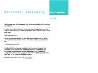 Dorothea Aalenburg website screenshot