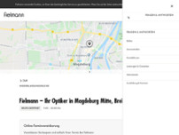 Fielmann – Ihr Optiker website screenshot