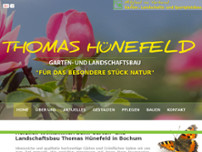 Thomas Hünefeld website screenshot