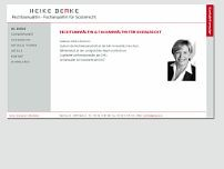 Heike Berke website screenshot