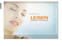 Heinz Leisen website screenshot