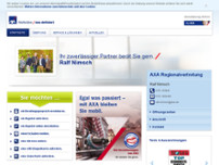 AXA Regionalvertretung Ralf Nimsch website screenshot
