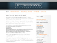 Heidrich & Meise website screenshot