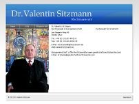 Dr. Valentin Sitzmann website screenshot
