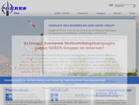 GERES mbH & Co. KG website screenshot