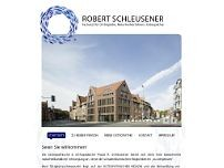 Robert Schleusener website screenshot