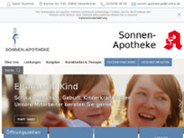 Sonnen-Apotheke website screenshot